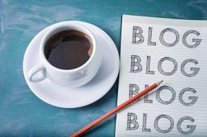 kaffeetasse und block