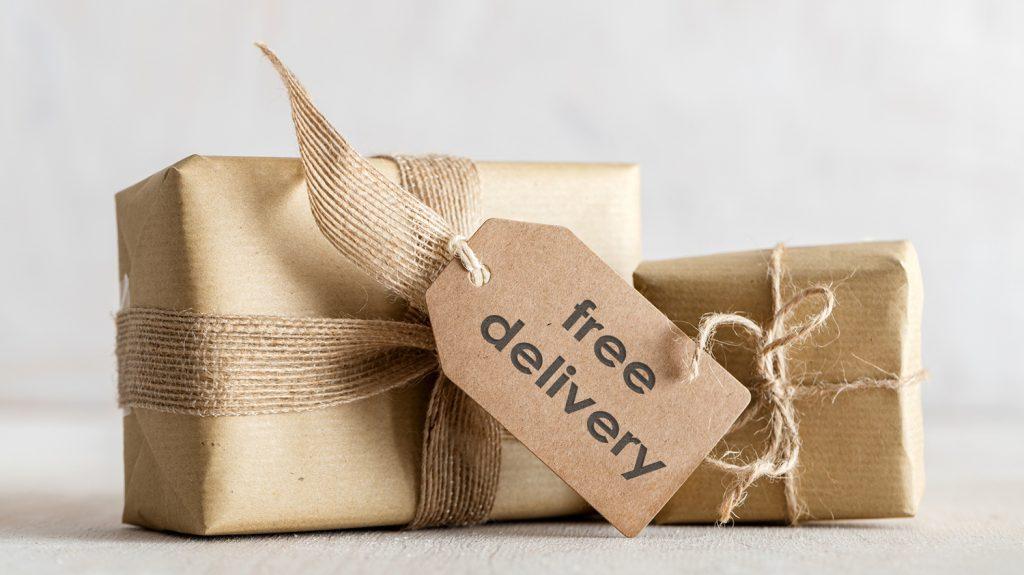Pakete freier versand