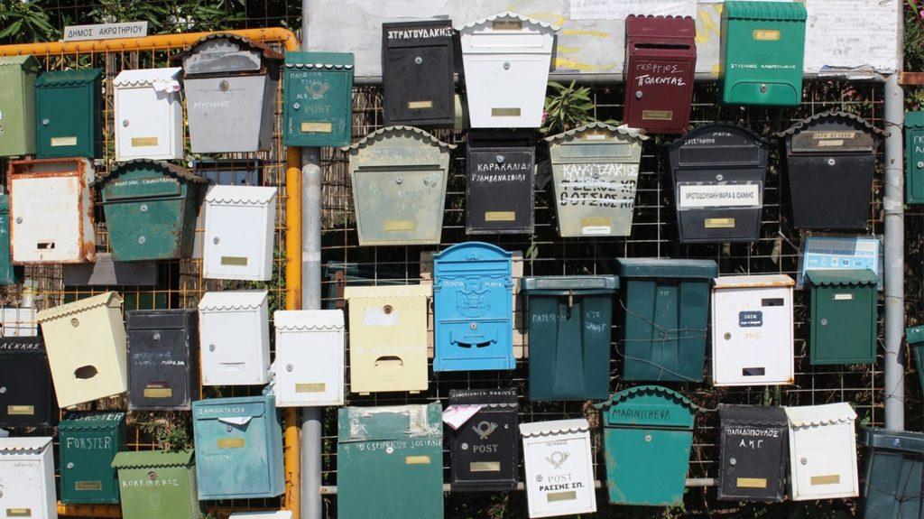 Briefkästen nussundgenuss