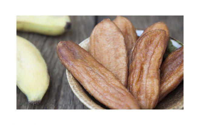 Trockenfrüchte getrocknete Banane von nussundgenuss