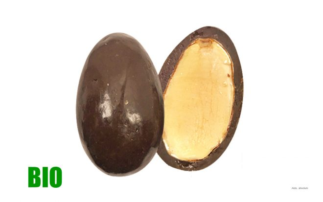 BIO Vollmilch-Schokolade-Mandeln