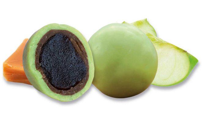 Fruchtkugel Apfel-Karamell