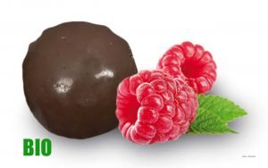 BIO Fruchtkugel Himbeere aus Frankreich/ Perle de Fruits-Framboise Bio