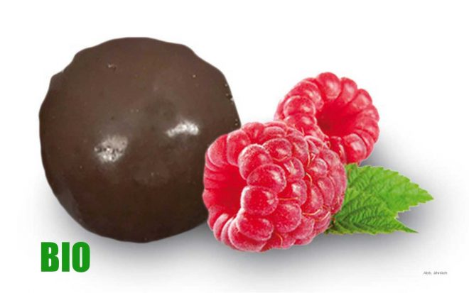 Bio Fruchtkugel Himbeere Nussundgenuss