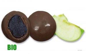 BIO Fruchtkugel Apfel aus Frankreich/ Perle de Fruits-Pomme Bio