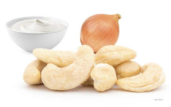 Cashewkerne mit Sourcream nussundgenuss