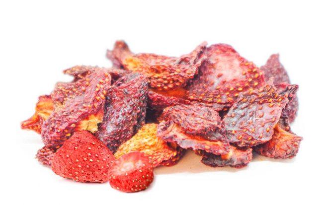 Erdbeeren getrocknet