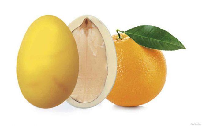 Orangen Mandeln Nussungenuss