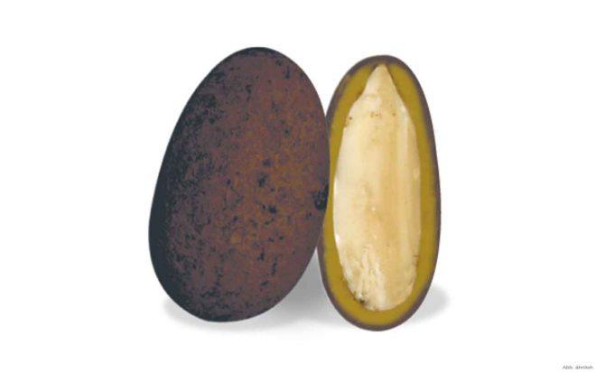 Choco Sutra-Mandeln mit Ingwer und Gentian Flavour
