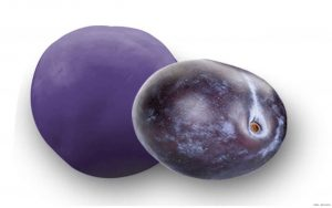 Fruchtkugel Pflaume aus Frankreich / Perle de Fruits-Quetsche