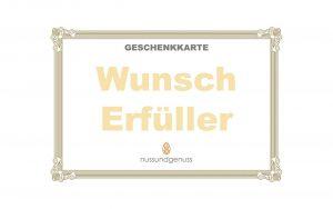"""Geschenkkarte """"Wunsch Erfüller"""""""