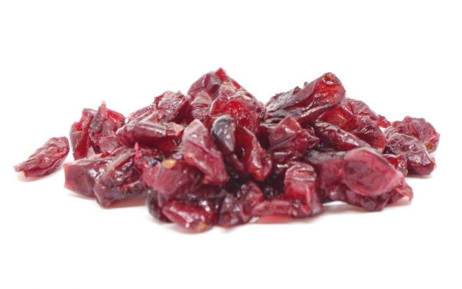 Cranberries mit Ananasdicksaft