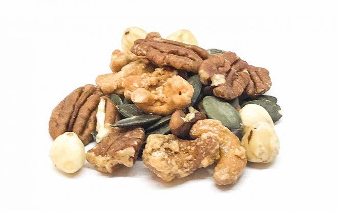 Mix aus Nüssen und Trockenfrüchten