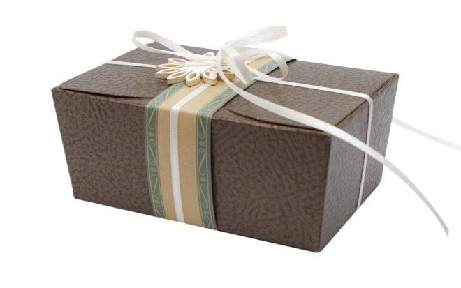 Geschenkverpackung für Nussmischung