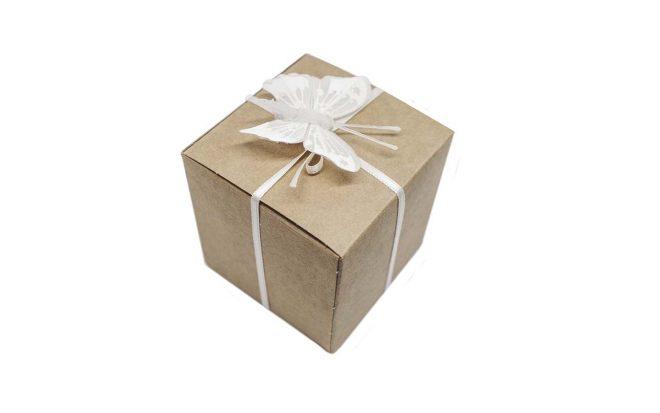 Geschenkverpackung für Nussmischung und Trockenfrüchte