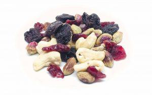 """Nussmischung """"Müsli upgrade das Dritte"""" mit Cranberries, Pistazienkerne, Cashew und Süßkirschen"""