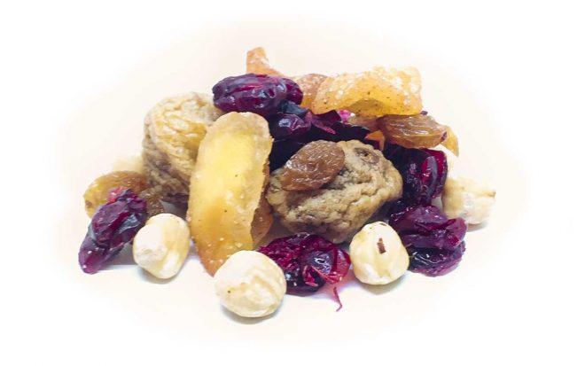 Müsli Mix aus Nüssen und Trockenfrüchten