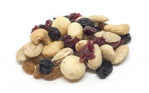 """Nussmischung """"Salted & Sweety"""" mit Cashew, Mandeln, Macadamia, Pistazien, weinbeeren, Sultanine"""