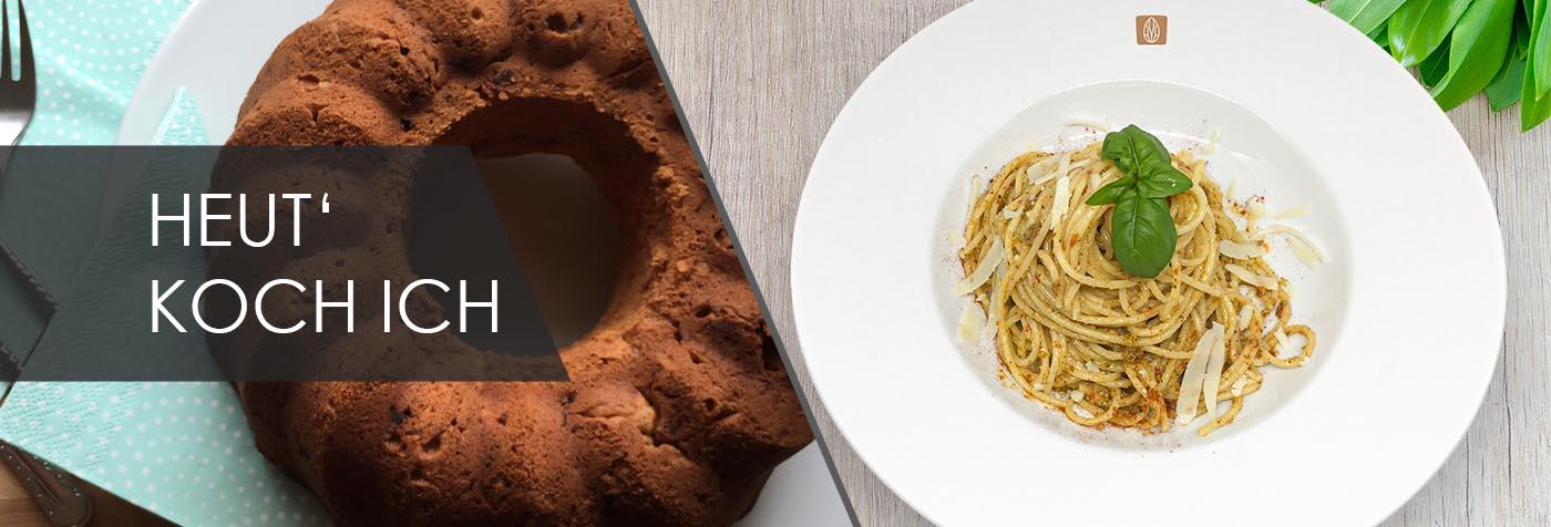 Marmorkuchen & Spaghetti
