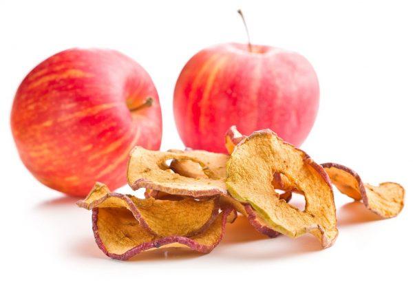 getrocknete Äpfel Trockenobst von nussundgenuss