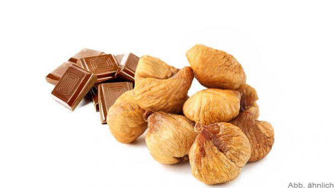Feigen mit Zartbitterschokolade