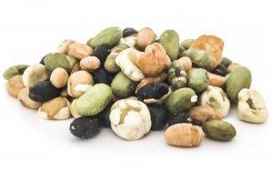 Bohnen-Erbsen Mix geröstet und leicht gesalzen, 160 Gramm