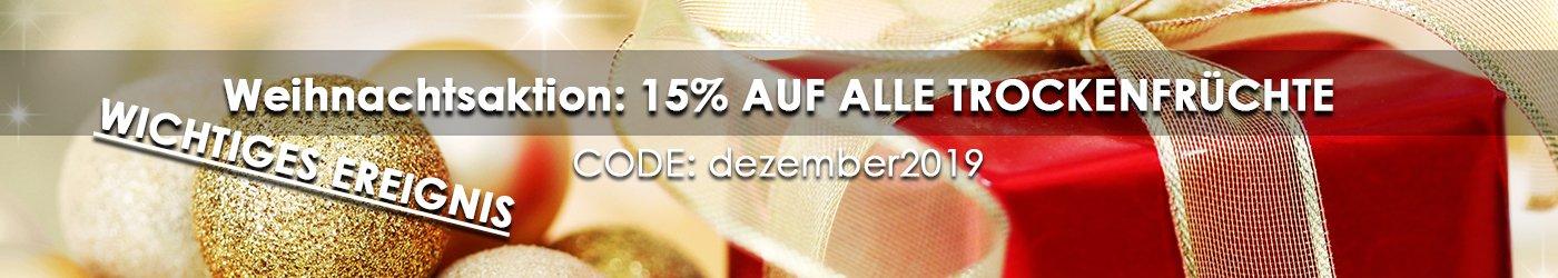 Winter- Weihnacjtsaktion 15% Rabatt