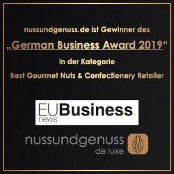 nussundgenuss ist Gewinner des German Business Award