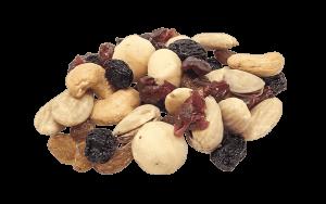 """Nussmischung """"Salted & Sweety"""" mit Cashew, Mandeln, Macadamia, Pistazien, Süßkirschen, Sultanine"""